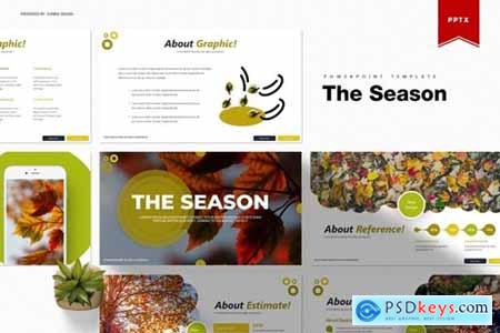 The Season Powerpoint, Keynote and Google Slides Templates
