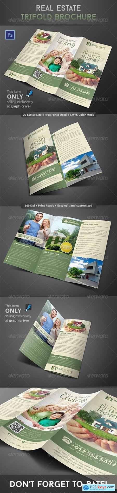 Real Estate Trifold Brochure 8606749
