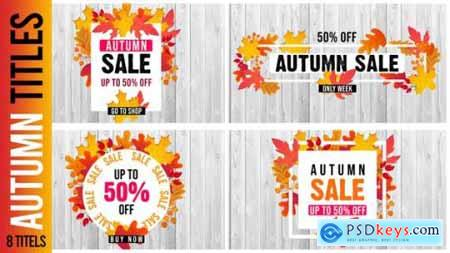 Videohive Autumn Titles 24542668