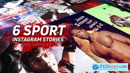 Videohive Sport Instagram Stories Pack 23027755