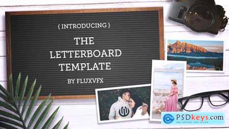 Videohive Letter Board Flat Lay Kit 22993376