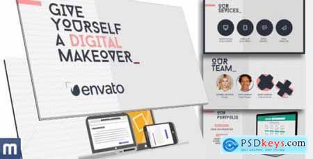 Videohive Digital Makeover Universal Presentation 11624353