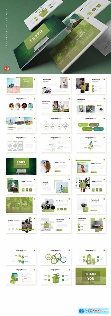 Seger Powerpoint, Keynote and Google Slides Templates