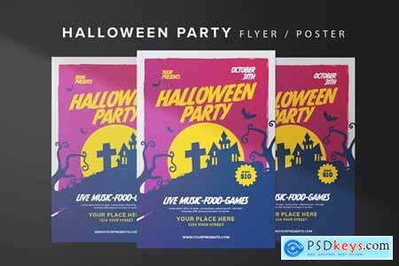 Halloween House Flyer