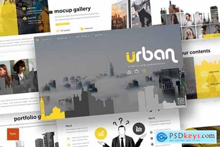 Urban Powerpoint, Keynote and Google Slides Templates