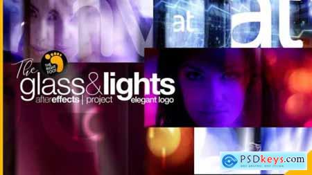 Videohive Glass & Lights Elegant Logo 24506389