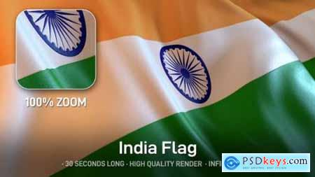 Videohive India Flag 24534500