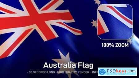 Videohive Australia Flag 24534394