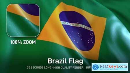 Videohive Brazil Flag 24534388
