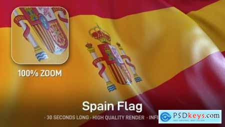 Videohive Spain Flag 24553670