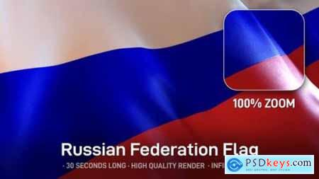 Videohive Russian Federation Flag 24534412