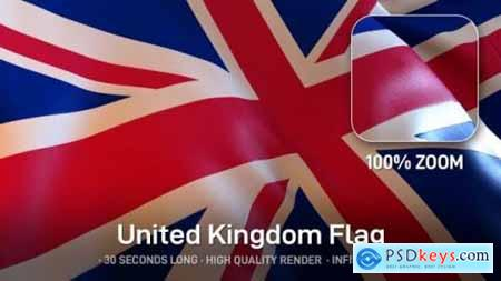 Videohive United Kingdom Flag 24531404