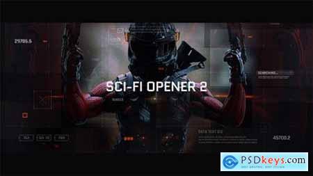 Videohive Sci-Fi Opener Hi-Tech Slideshow Futuristic Film Credits HUD Elements Space Science 21218914