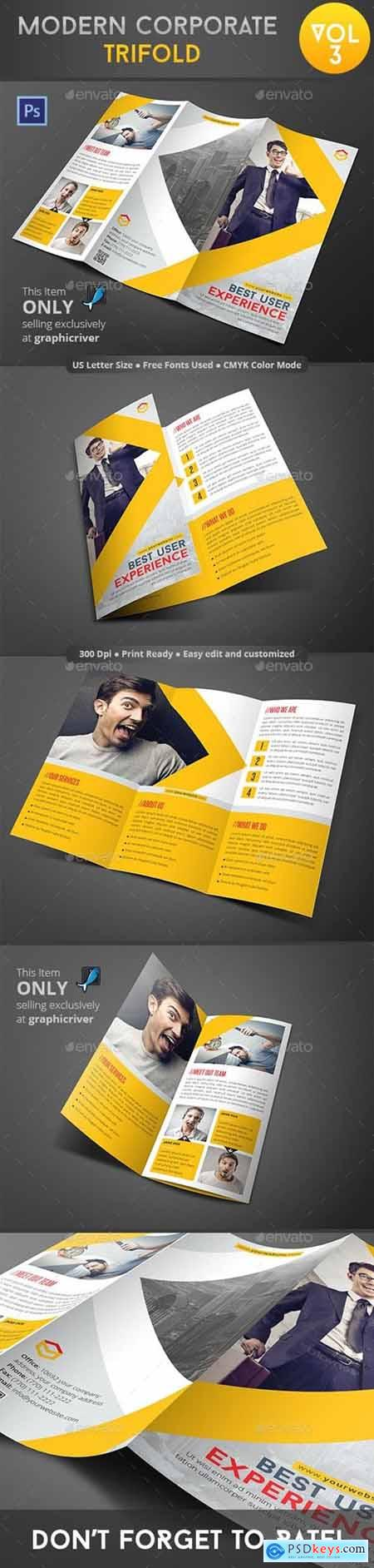 Modern Corporate Trifold Vol 3 9110236