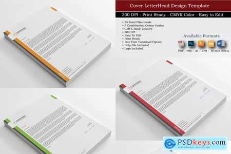 Corporate Business Letterheads 3755848