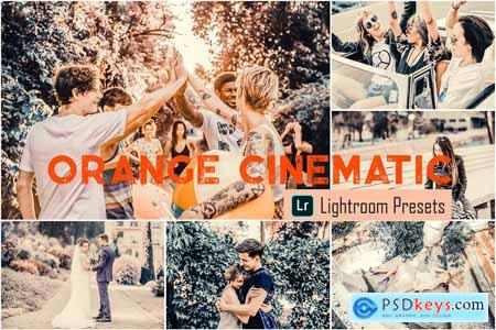 Orange Cinematic LR & ACR Presets 4068114