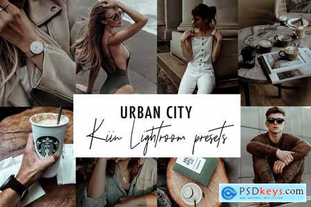URBAN CITY LIGHTROOM PRESETS 4069395