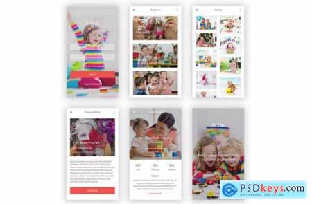 Balak - Kindergarten & Pre-school for Photoshop