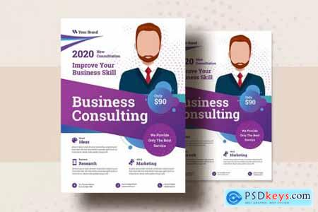 Business Consultation Flyer Template V-4