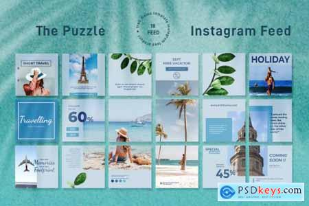 Travel and Tour - Instagram Puzzle