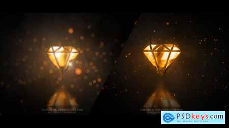 VideoHive Gold Glossy Luxury Logo 23387493