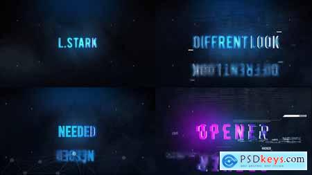 VideoHive Hi-Tech Titles Opener 22377715