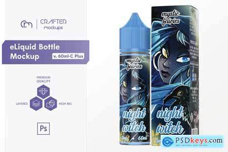 Creativemarket eLiquid Bottle Mockup v. 60ml-C 3643985