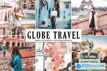 Creativemarket Globe Travel Lightroom Presets 4080082