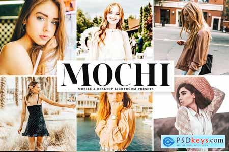 Creativemarket Mochi Lightroom Presets Pack 4079756