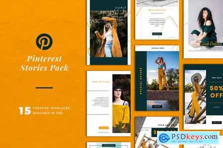 Pinterest Stories Templates 5