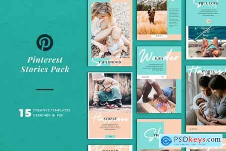 Pinterest Stories Templates 2