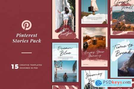 Pinterest Stories Templates 3