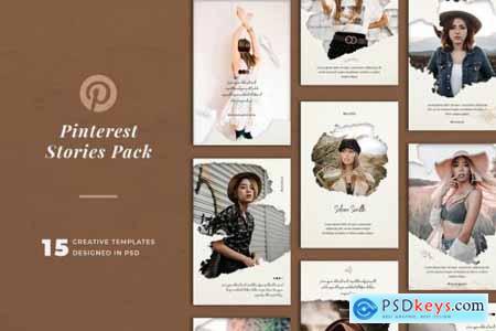 Pinterest Stories Templates 4