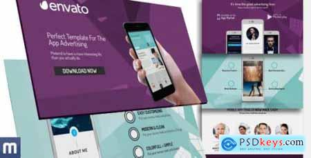 Videohive Phone 6 The App Advertising 9872802