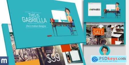 Videohive Promote Your Product or Service with Gabriella 10179067