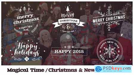 Videohive Magical Time Christmas & New Year Titles 20926668