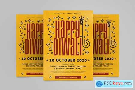 Happy Diwali Flyer V49DYNL