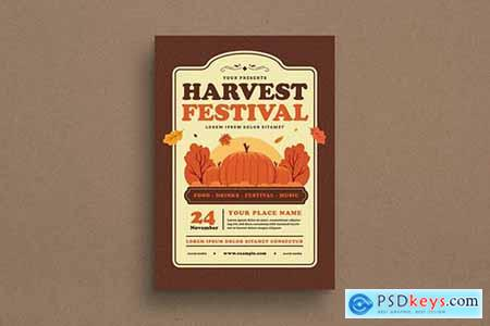 Harvest Festival Event Flyer