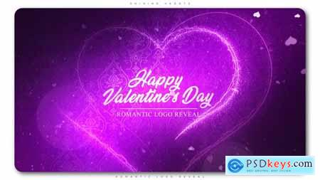 VideoHive Shining Hearts Romantic Logo Reveal 23218747
