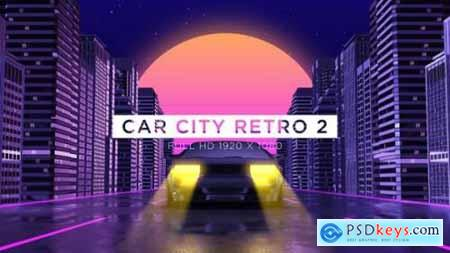 Videohive Car City Retro 2 Vj Loops Background 24593405