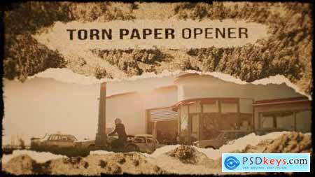 Videohive Torn Paper Opener 21754531