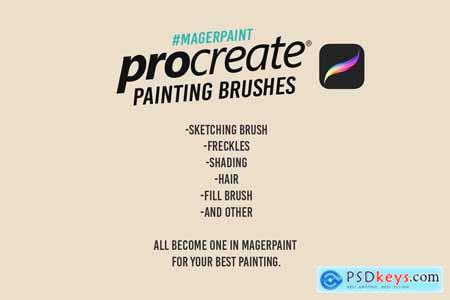 MAGERPAINT - Procreate Brushes 4093803