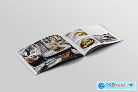 Restaurant Brochure Template 4096897