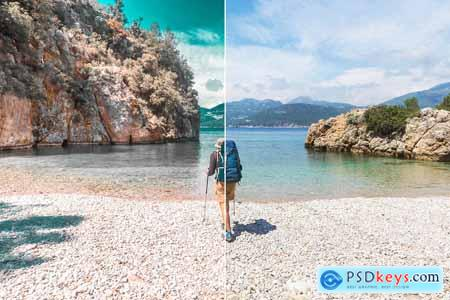 Teal Photoshop & Lightroom Presets 4068144
