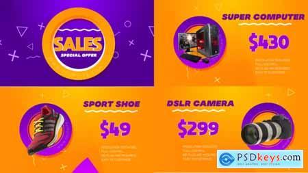 VideoHive Clean Trendy Sale Promo 2399090