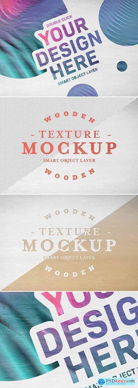 Wood Texture Mockup 288921367