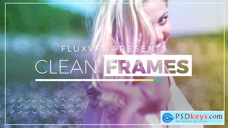 VideoHive Clean Frames 18603365