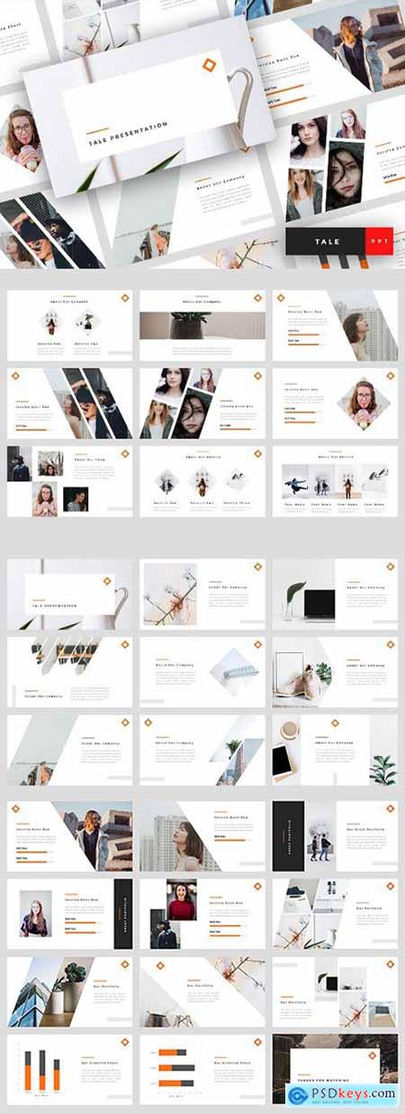 Tele - Creative Powerpoint, Keynote and Google Slides Templates
