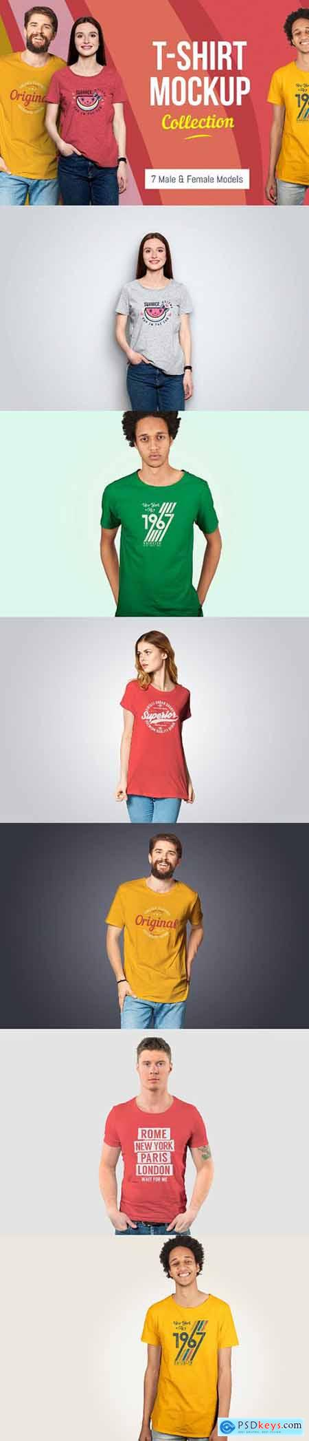 T-Shirt Mockup Collection