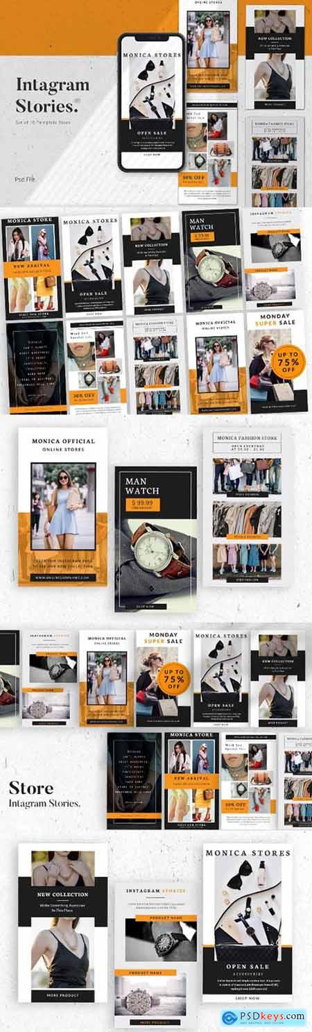 Store Social Media Instagram Stories Template